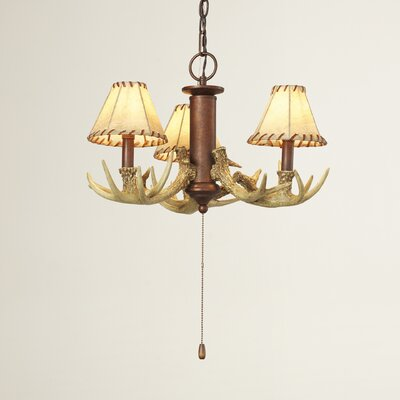 Portillo 3-Light Shaded Chandelier