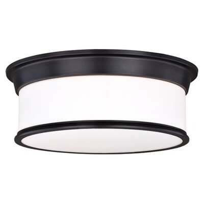 Midvale 3-Light Flush Mount Size: 5.75 H x 16 W x 16 D