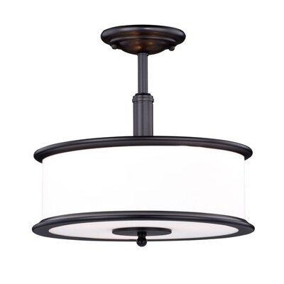 Limewood 3-Light Semi Flush Mount