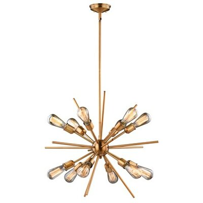 Corona 12-Light Sputnik Chandelier