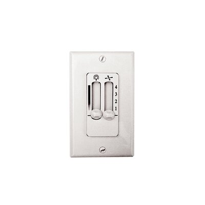 4-Speed Ceiling Fan and Light Wall Control