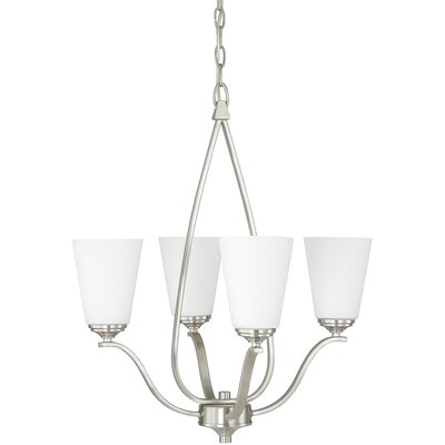 Bower 4-Light Candle-Style Chandelier