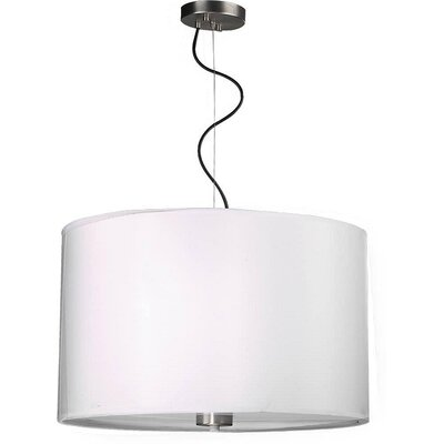 Hannum 1-Light Drum Pendant