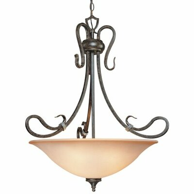 Wilkes 1-Light Bowl Pendant
