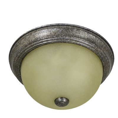 Cooperstown 1-Light Flush Mount