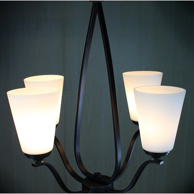 Bower Modern 4-Light Candle-Style Chandelier