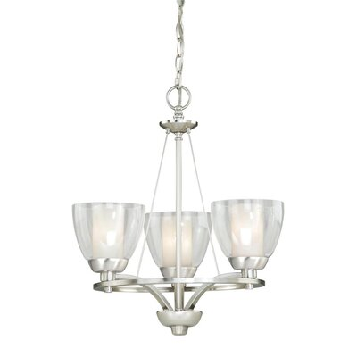Asti 3-Light Shaded Chandelier