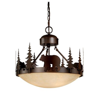 Bozeman 3-Light Inverted Pendant