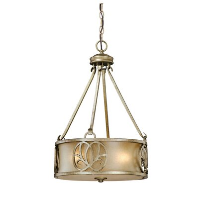 Newbury 3-Light Drum Foyer Pendant
