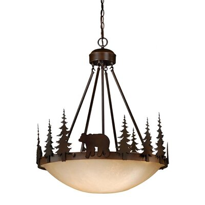 Jensen 4-Light Inverted Pendant