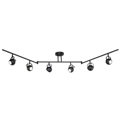 Pixie 6-Light Semi Flush Mount