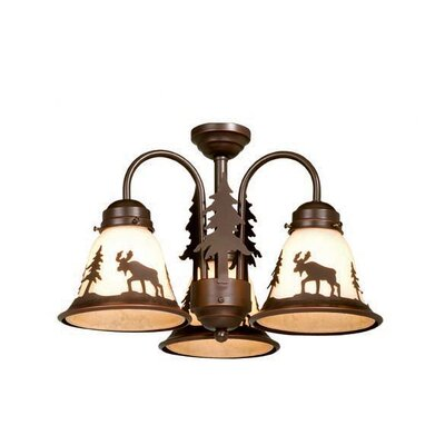Josefina 3-Light Semi Flush Mount