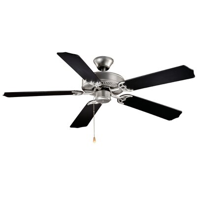 Landers 5-Blade Ceiling Fan Finish: Flash Silver