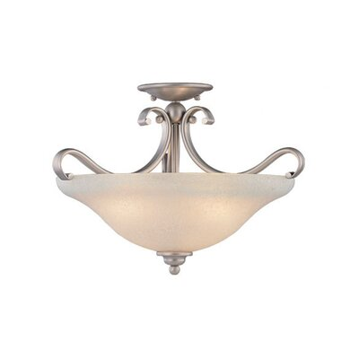 Enfield Semi Flush Mount Finish: Brushed Nickel