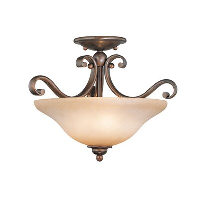 Enfield Semi Flush Mount Finish: Royal Bronze