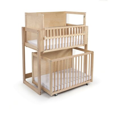 Whitney bros space saver double decker crib best baby for Double decker crib