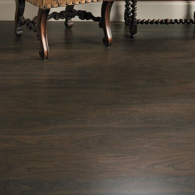 Eligna 6 x 54 x 8mm Walnut Laminate Flooring in Chocolate Walnut Planks