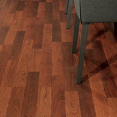 Eligna 6 x 54 x 8mm Cherry Laminate in Brazilian Cherry Double Plank