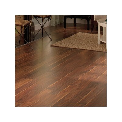Veresque 5 x 47 x 8mm Walnut Laminate Flooring in Burnished Walnut