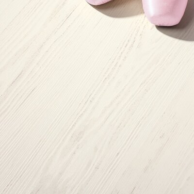 Eligna 6 x 54 x 8mm Pine Laminate Flooring in White Brushed Pine