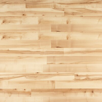 Home Series Sound 8 x 47 x 7mm Maple Laminate Flooring in Blonde Maple