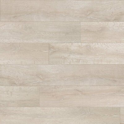 Reclaime 7.5 x 54.34 x 12mm Oak Laminate Flooring in White Wash