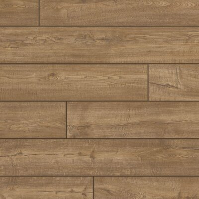 Envique 7.5 x 54.34 x 12mm Oak Laminate Flooring in Chateau Oak