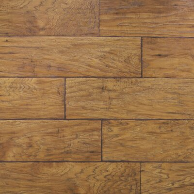 Dominion 6.13 x 54.34 x 12mm Hickory Laminate in Rustic Hickory