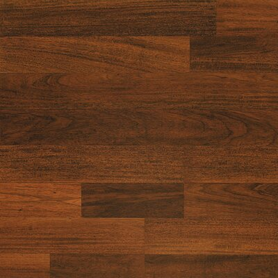 Classic 7.5 x 47.25 x 8mm Mahogany Laminate Flooring in Everglade Mahogany