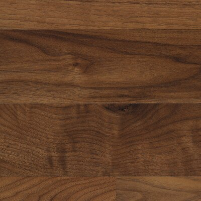 Classic 7.5 x 47.25 x 8mm Walnut Laminate Flooring in Chesapeake Walnut