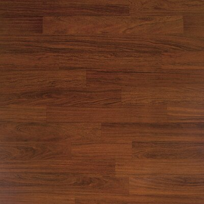 Classic 7.5 x 47.25 x 8mm Cumaru Laminate Flooring in Dark Cumaru