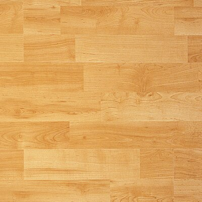 Classic 7.5 x 47.25 x 8mm Birch Laminate Flooring in Select Birch