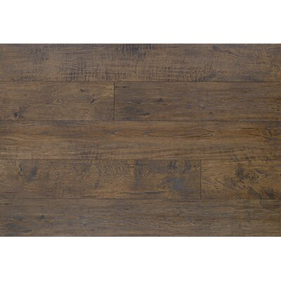 Reclaime 7.5 x 54.34 x 12 mm Oak Laminate Flooring in Coffee