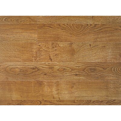 QS 700 8 x 47 x 7mm Oak Laminate Flooring in Golden Oak Double Plank Living Surface