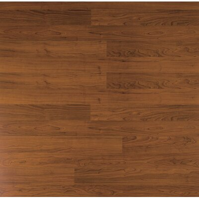 Home Series 8 x 47 x 7mm Cherry Laminate Flooring in Russet Cherry