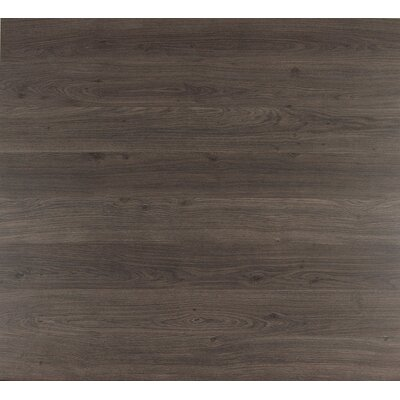 Eligna 6 x 54 x 8mm Oak Laminate Flooring in Dark Grey Varnished Oak