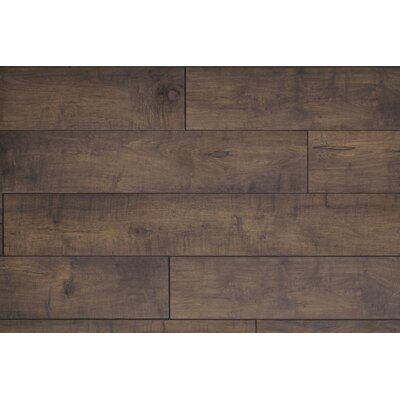 Restoration Wide Plank 8 x 51 x 12mm Maple Laminate Flooring in Branch