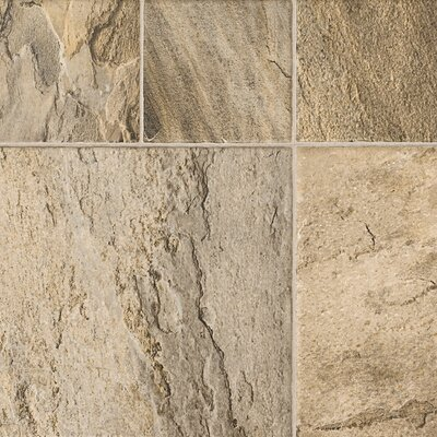 Revolutions� Tile 16 x 51 x 8mm Mojave Slate Laminate in Sand Dune