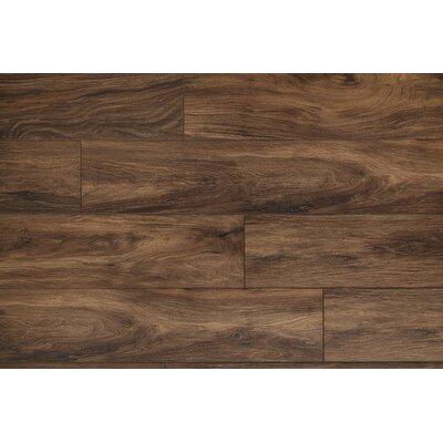 Restoration Wide Plank 8'' x 51'' x 12mm Laminate Flooring in Earth