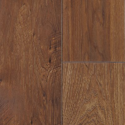 Restoration 6 x 51 x 12mm Hickory Laminate Flooring in Gunstock