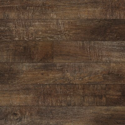 Restoration 6'' x 51'' x 12mm Laminate Flooring in Firewood