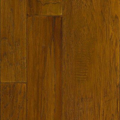 Marrakech Random Width Hickory Hardwood Flooring in Cumin