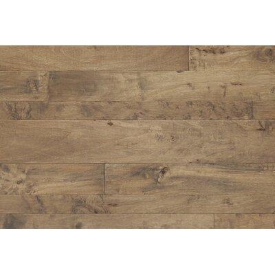 Antigua Random Width Engineered Shiranga Hardwood Flooring in Sediment