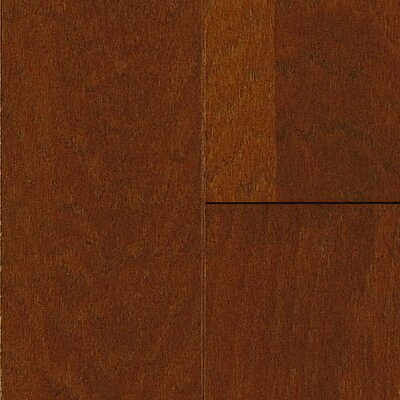 American 5 Hickory Hardwood Flooring in Russet