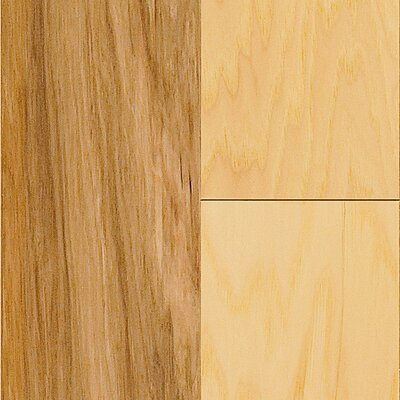 American 3 Hickory Hardwood Flooring in Natural