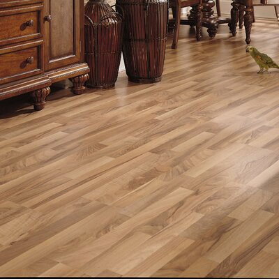 Bastian 8 x 51 x 8mm Walnut Laminate Flooring in Natural