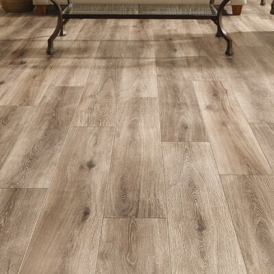 Restoration Wide Plank 8 x 51 x 12mm Laminate Flooring in Brushed Taupe