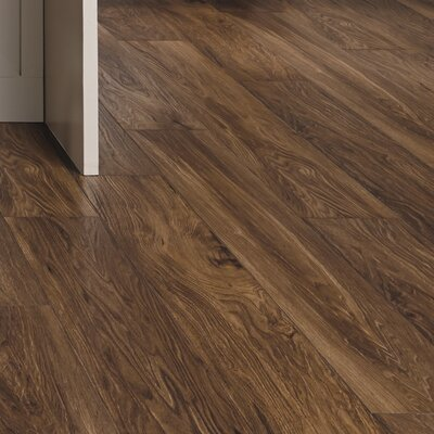 Restoration Wide Plank 8'' x 51'' x 12mm Laminate Flooring in Fire