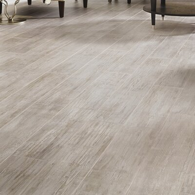 Restoration Wide Plank 8'' x 51'' x 12mm Laminate Flooring in Driftwood