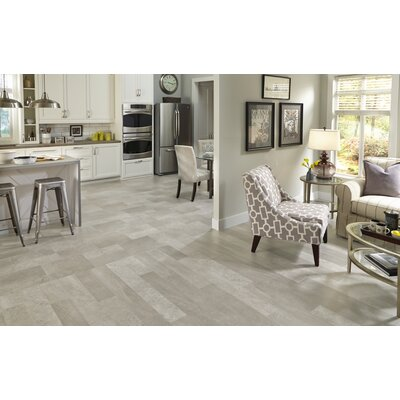Adura Meridian Glue Down Resilient 6 x 48 x 4mm Luxury Vinyl Plank in Gray